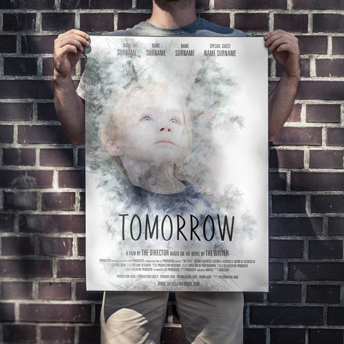 """Independent Film Poster for """"Tomorrow"""""""