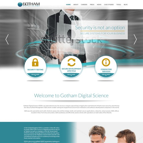 Digital agency website
