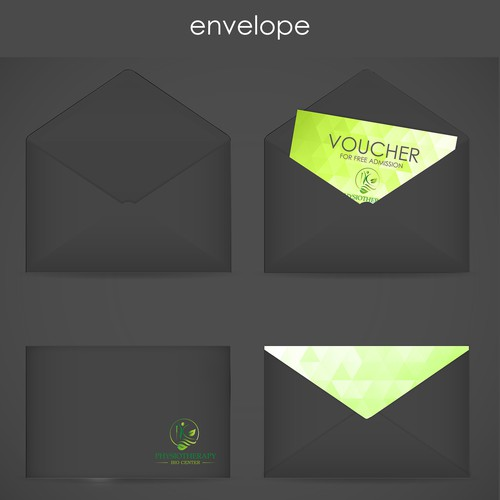 Envelope for physiotherapy