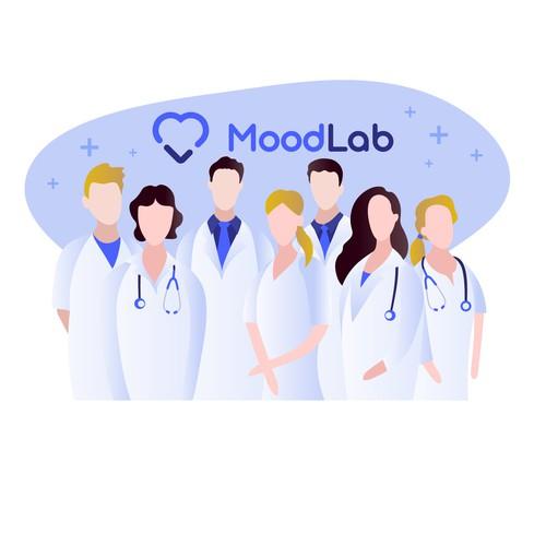 Modern illustration for web site