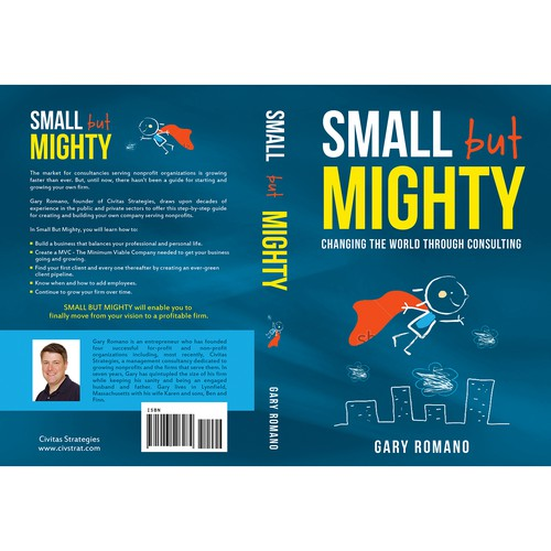 """Book cover for: """"Small but Mighty"""""""