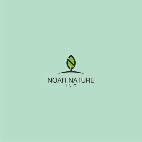Bold logo concept For Noah Nature Inc