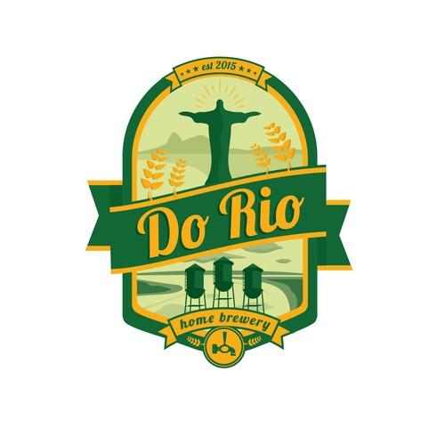 design logo label for beer