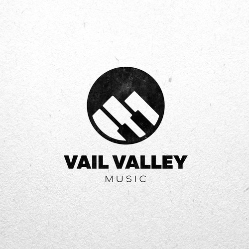 Creative logo for Vail Valley Music