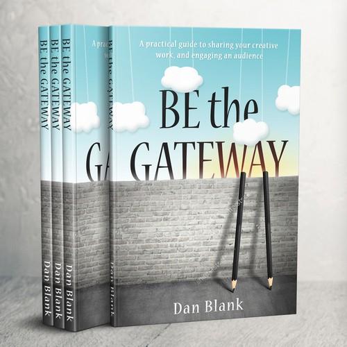 Creative, casual, metaphoric book cover