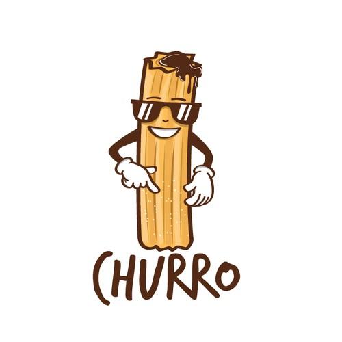 Churro restaurant logo