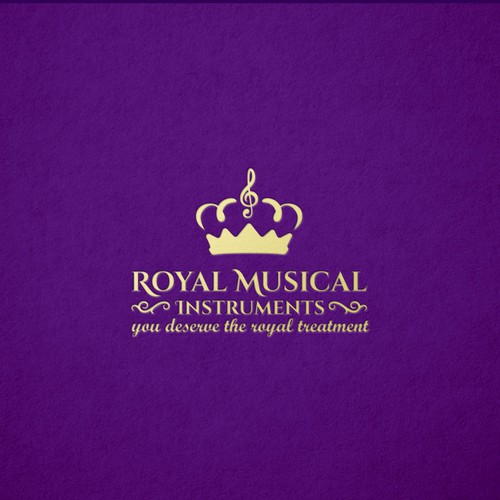 Royal Logo for a clarinet company