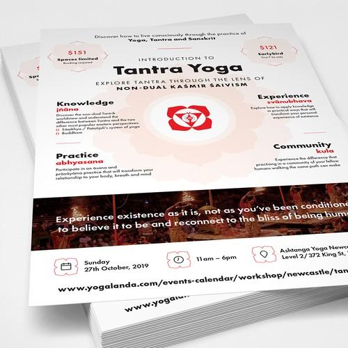 Tantra Yoga Flyer