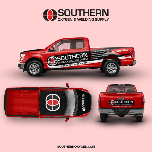 Car Wrap design for Southern