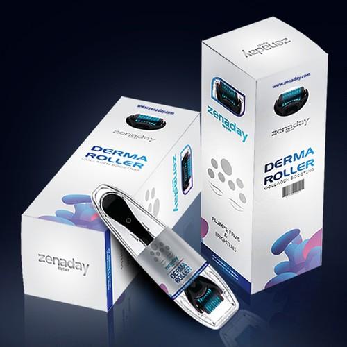 Packaging design for Derma Roller