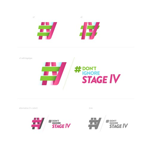 Symbol and logotype for a hashtag campaign