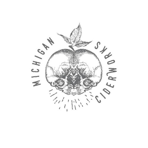 Edgy design for cider company