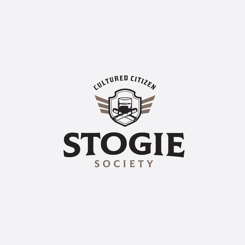 Stogie Society logo design