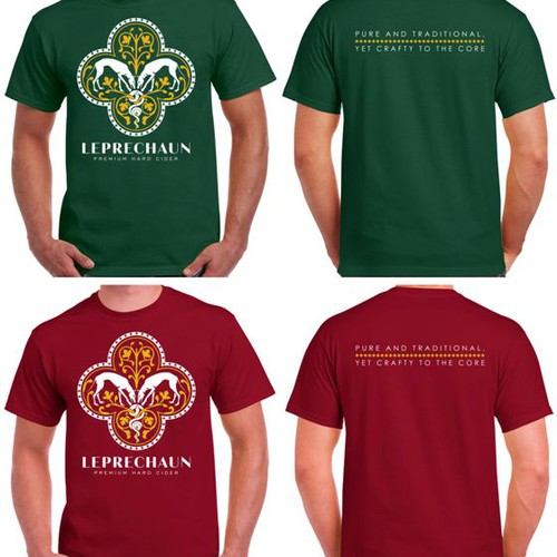 Premium Hard Cider. T-shirt Design