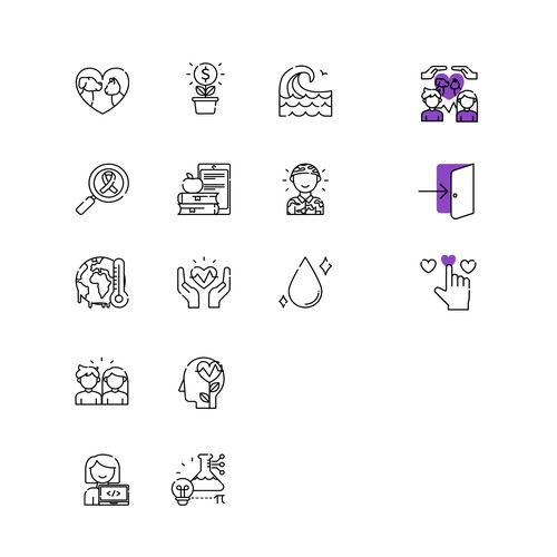 Lined Icons