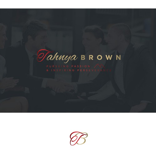 Logo design for Tahnya Brown | Career & Corporate Coach