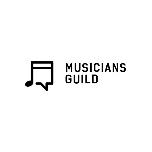 Show your talent with a logo for Musicians Guild