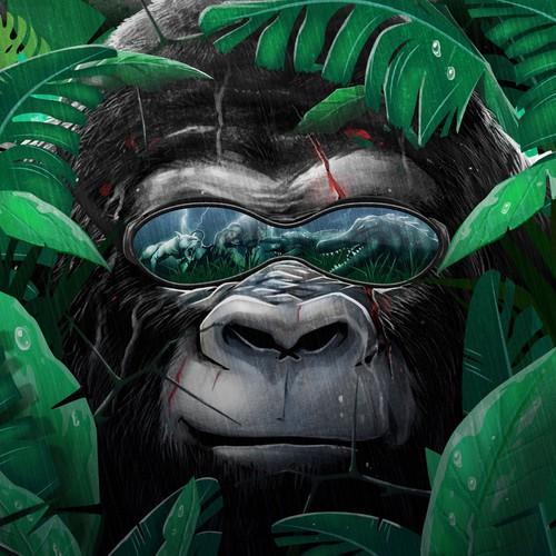 Book Cover - Gorilla novel