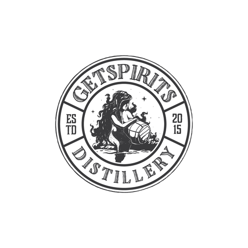 Logo Concept For Spirit Distilery