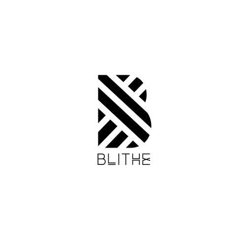 Modern logo for Blithe