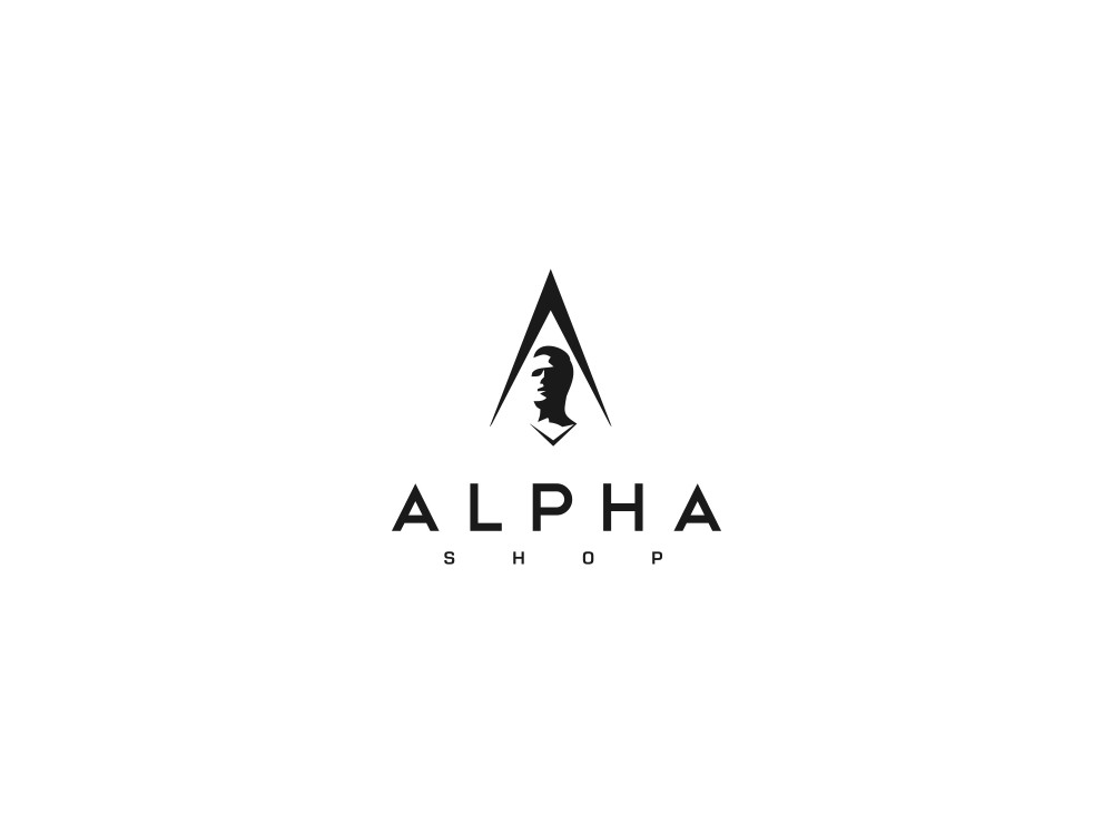 Help Alpha Shop with a new logo