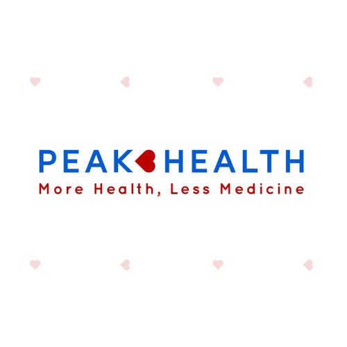 Create an image of peaking in health