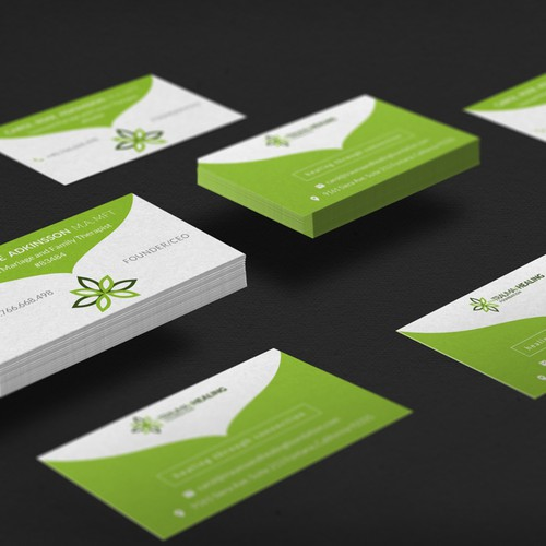 Business Card design for Trauma and Healing Foundation