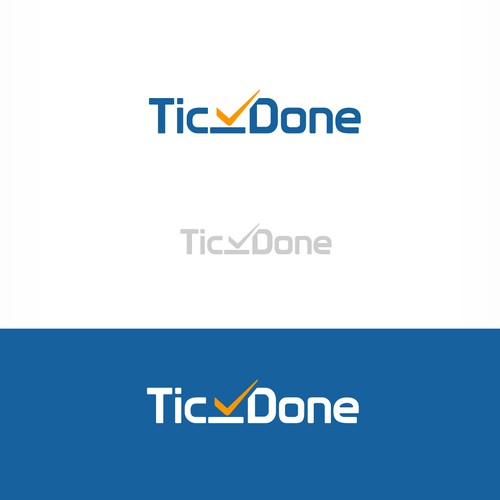 Create a clean, modern logo for a custom software shop with a focus on helping small business