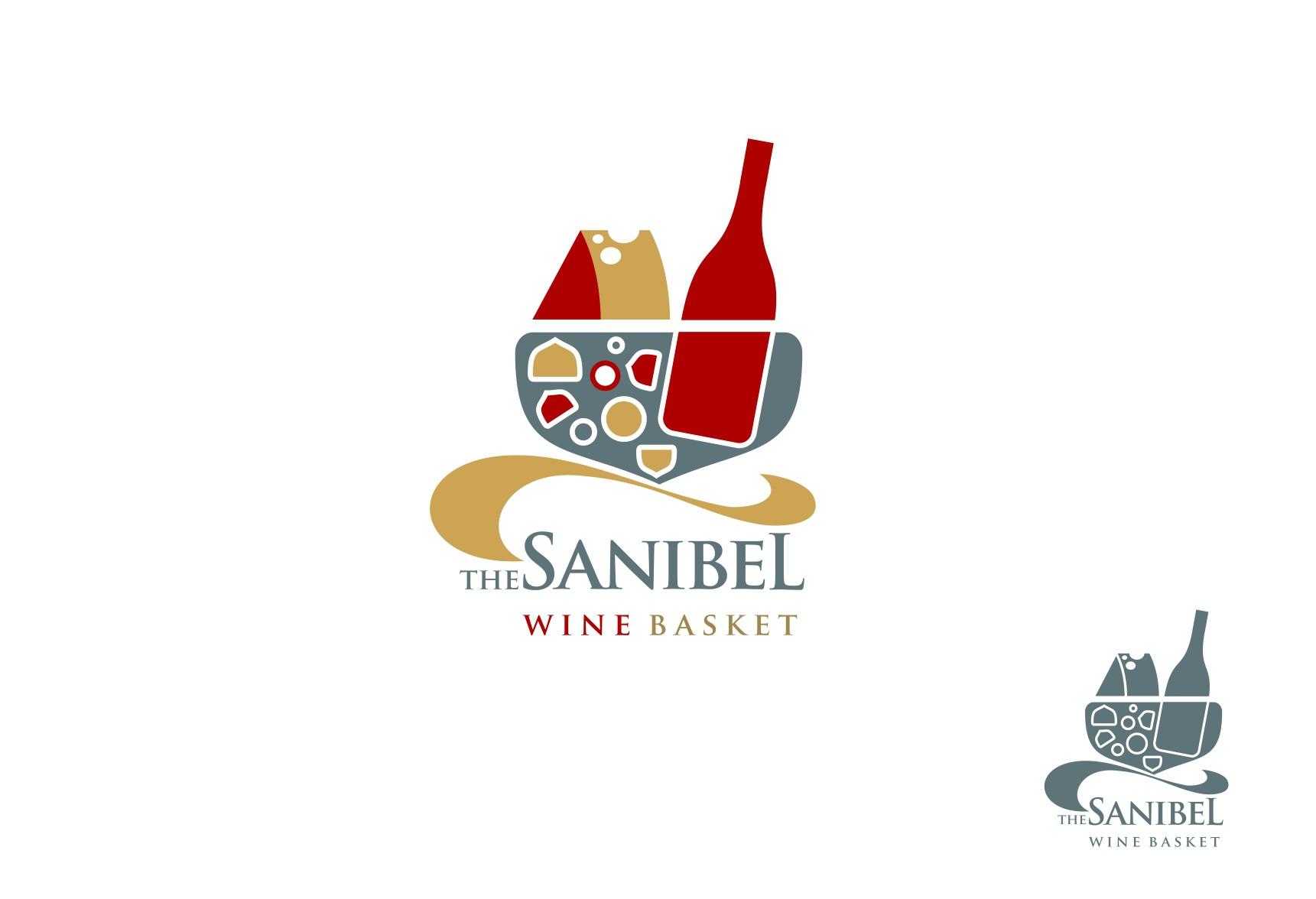 The Sanibel Wine Basket needs a new logo