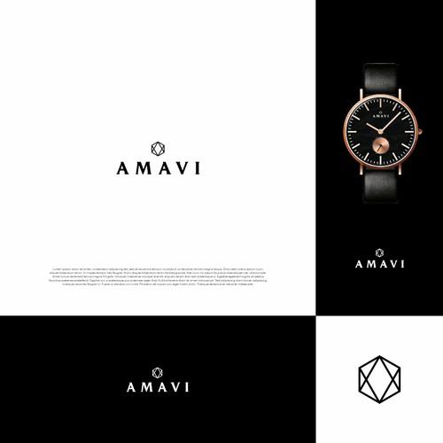 AMAVI WATCHES LOGO CONCEPT