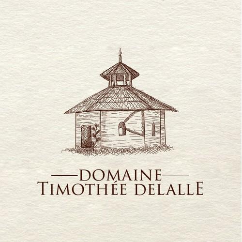 Logo for wine estate