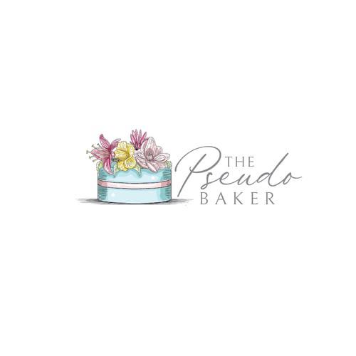 logo concept for cake shop