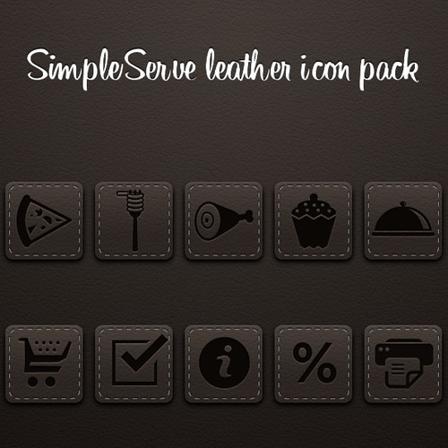 SimpleServe Icon Set