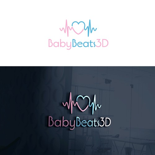 Winning entry for BabyBeats3D , Baby's Heartbeat, 3D Printed!
