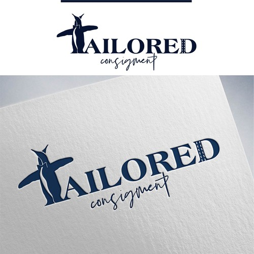 Logo for luxury mens clothing