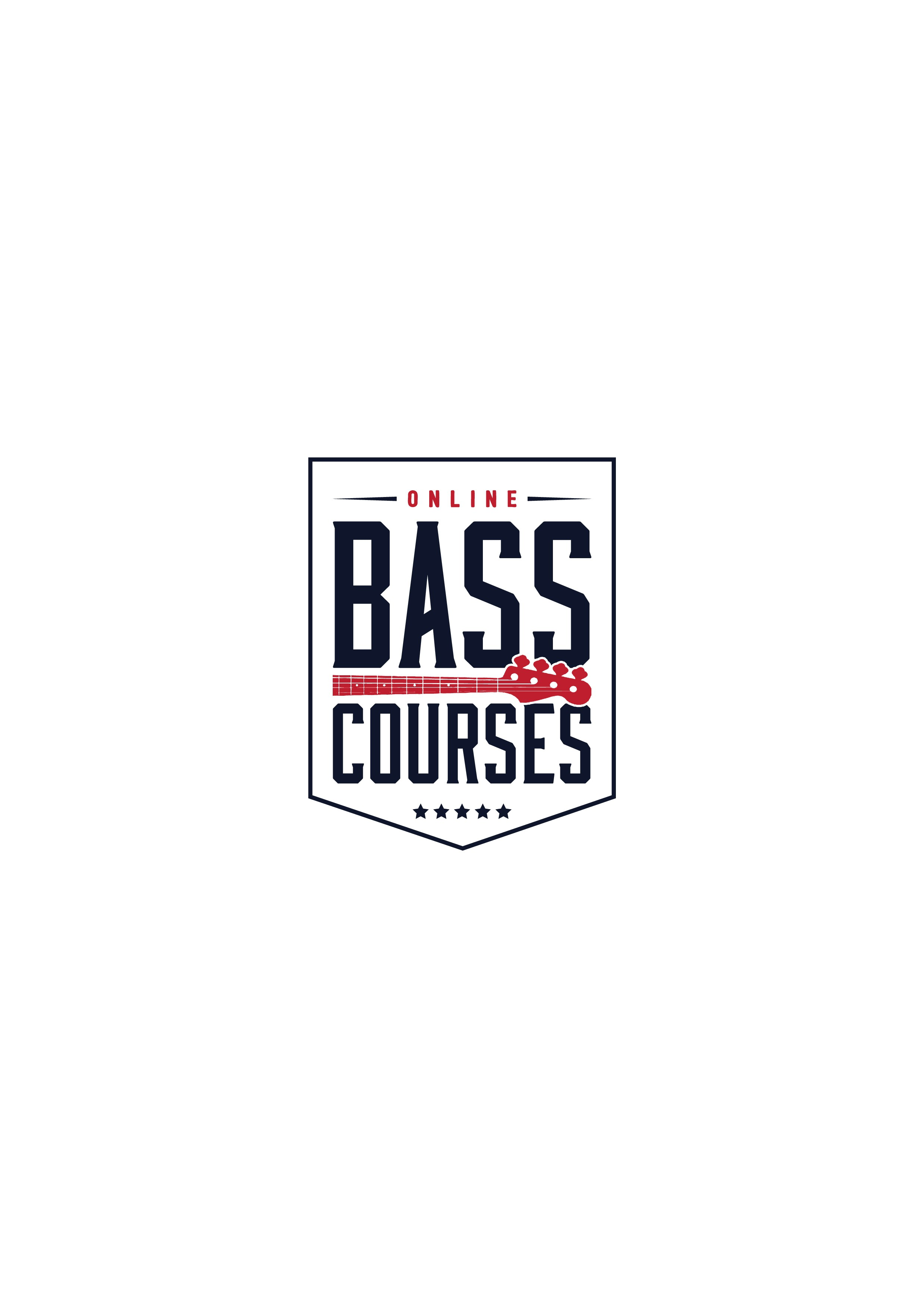 Create a memorable, engaging logo for Online Bass Courses.