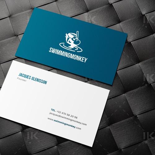 Minimal and clean design for SwimmingMonkey