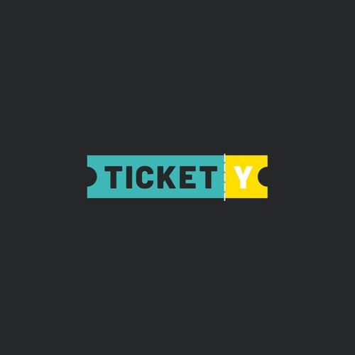 Tickety Custom Logo Design