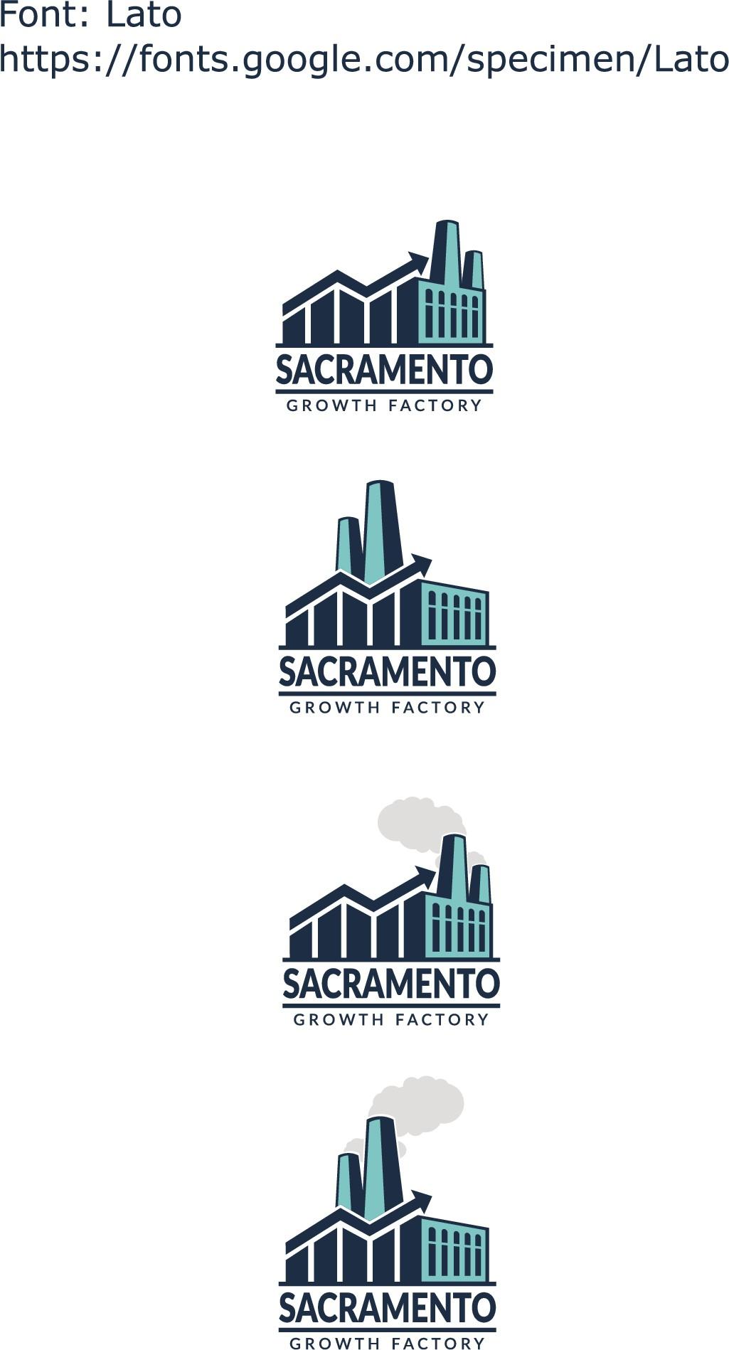 Sacramento Growth Factory Logo Design