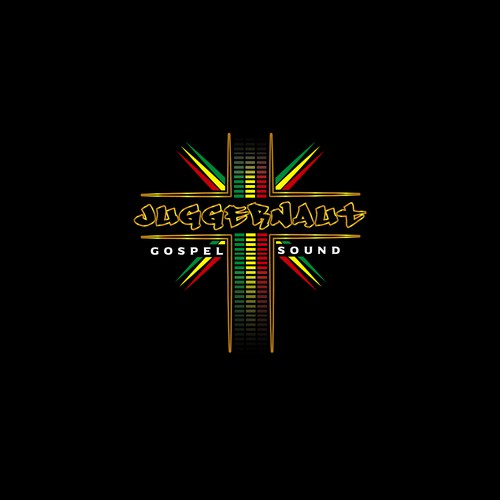 The  future logo for a Gospel Reggae DJing Group!