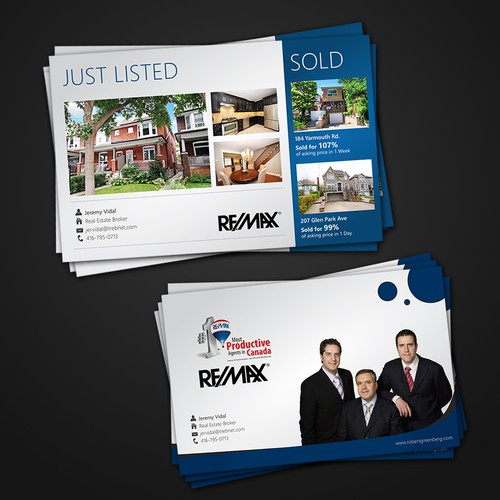 postcard or flyer for Re/Max 2000 Realty Inc.