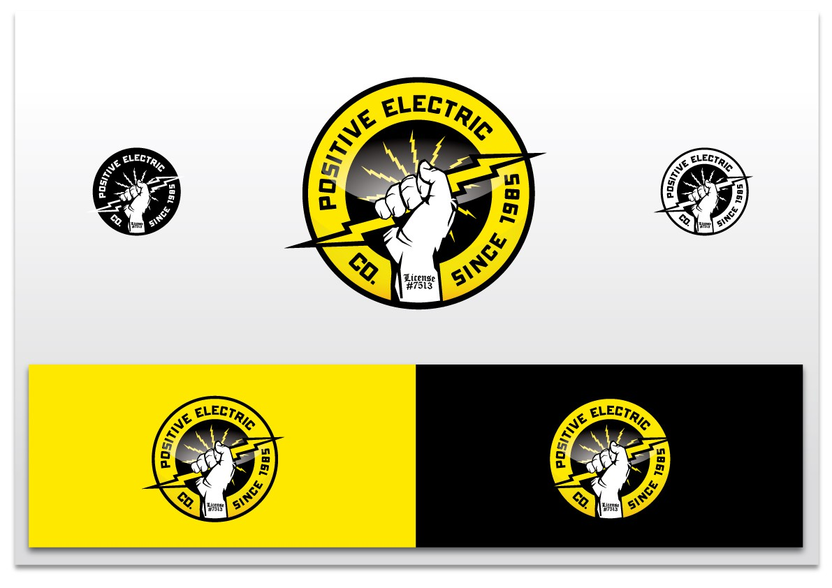 New logo wanted for Positive Electric Co.