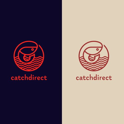 Catch Direct Logo Design