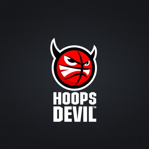 logo for hoops devil