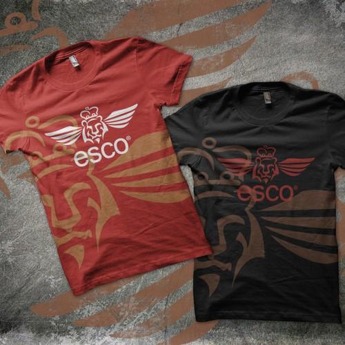 Create the next logo design for Esco Clothing Co.