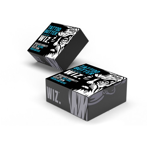 Tatoo butter packaging design