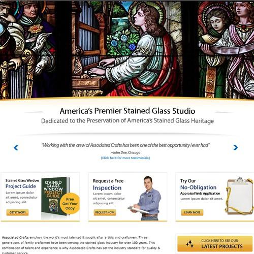 Associated Crafts Website Design