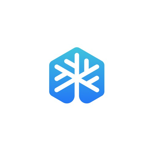 Iconic logo for Snow Tree company