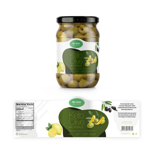Olive Label Design