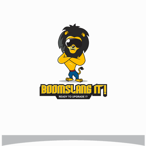 """logo for """"BOOMSLANG IT!"""""""